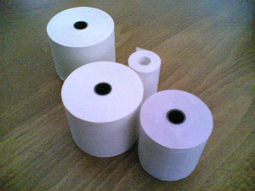 76mm x 76mm Three Ply Till Rolls